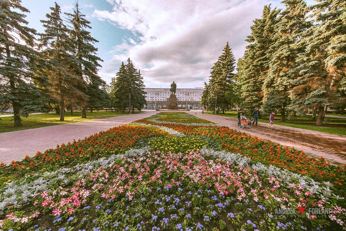 Piazza della Rivoluzione - Čeljabinsk - Russia