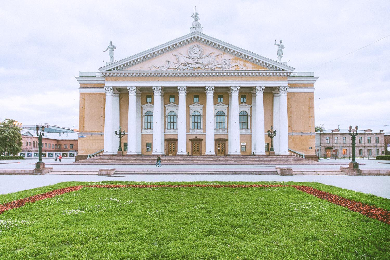 Teatro dell'Opera di Čeljabinsk, Russia. Opera Theatre in Chelyabinsk, Russia.